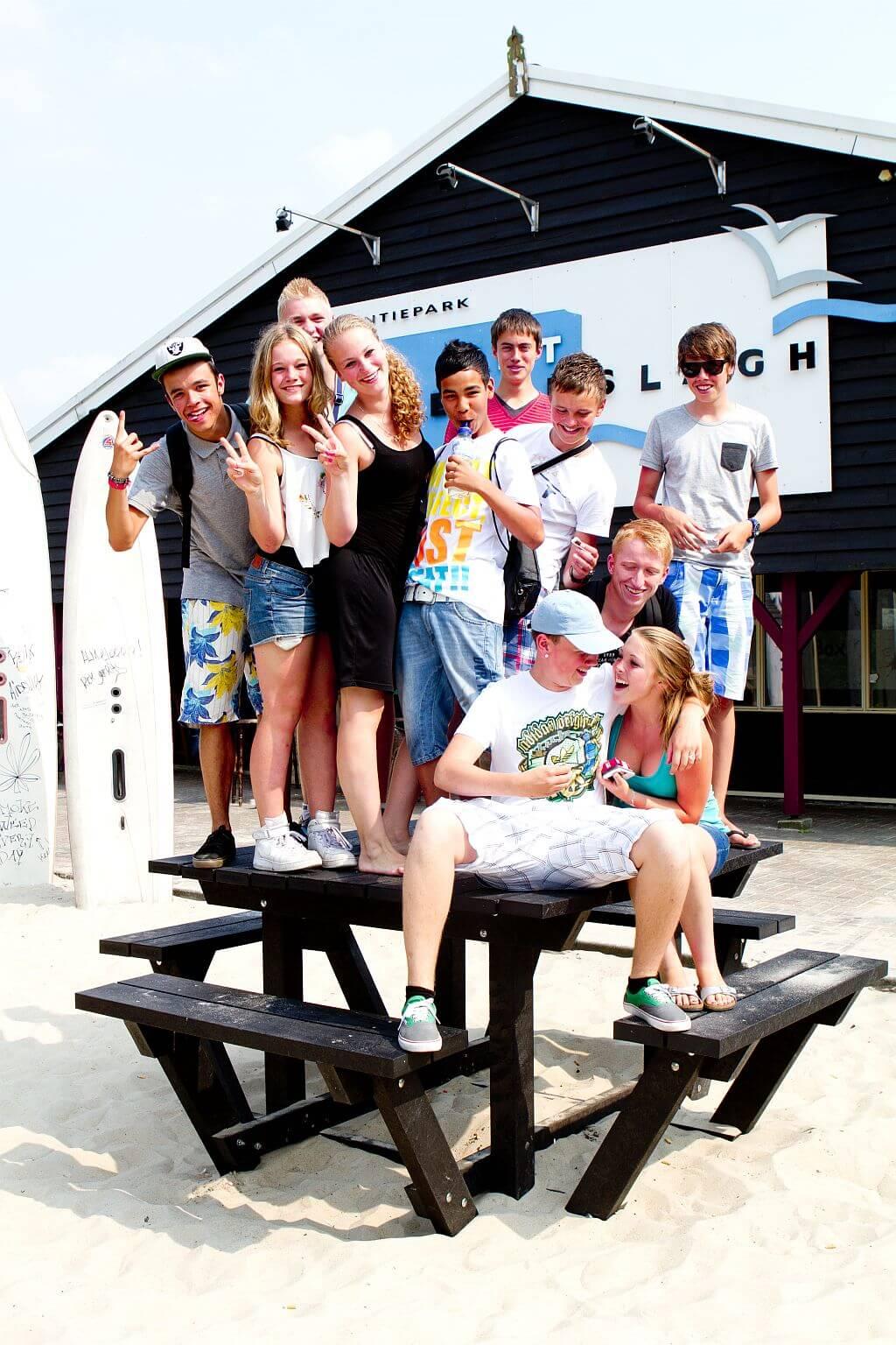 Freizeitaktivitäten für Jugendliche auf 5 Sterne Campingplatz -