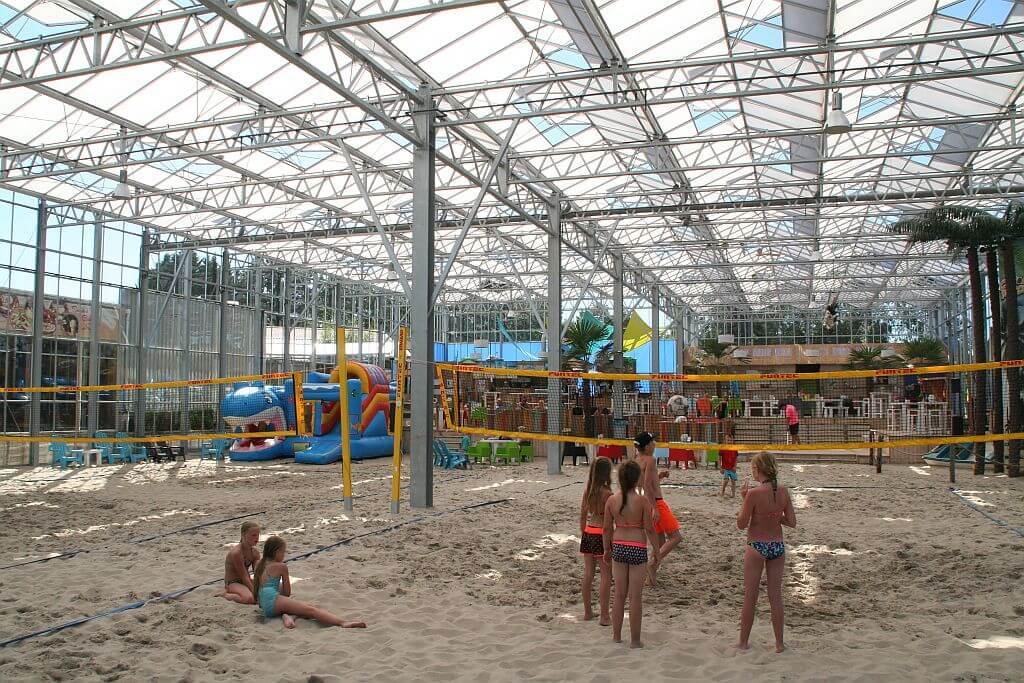 Stellplatz mit eigenem Bad auf Ferienpark Het Stoetenslagh -