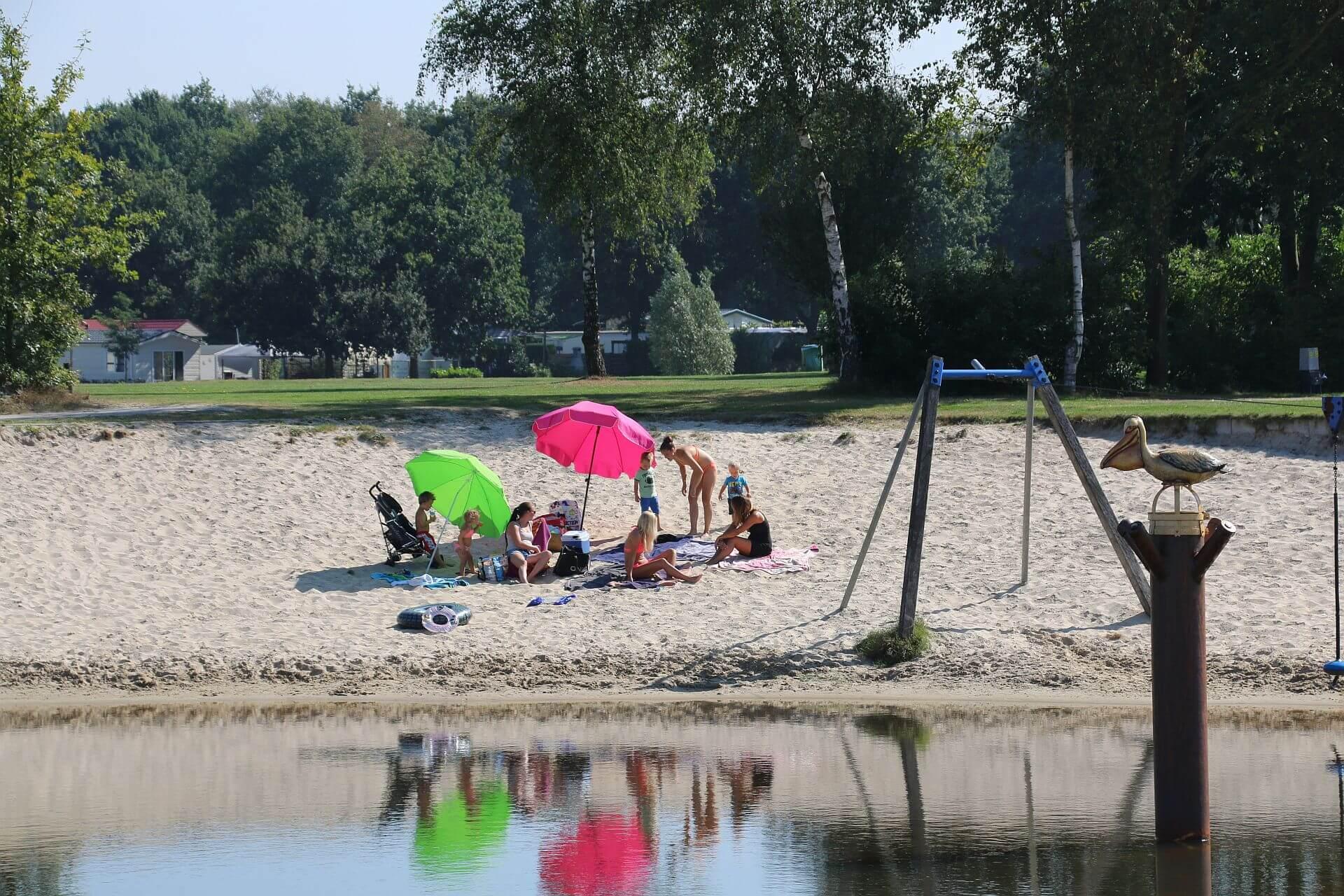 Strandurlaub an der deutsch-niederländischen Grenze - Strandurlaub