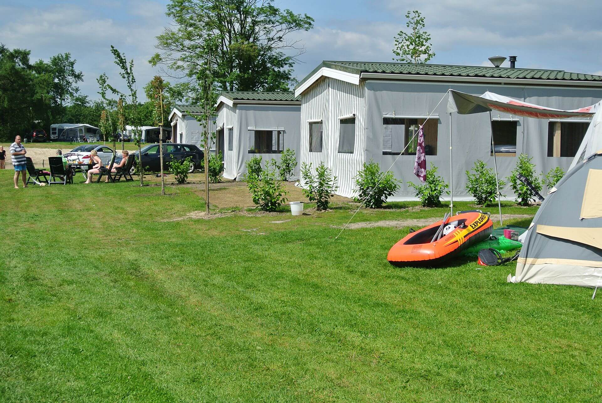 Lodgezelt, eine besondere Unterkunft direkt am Strand! - Urlaub in Hardenberg