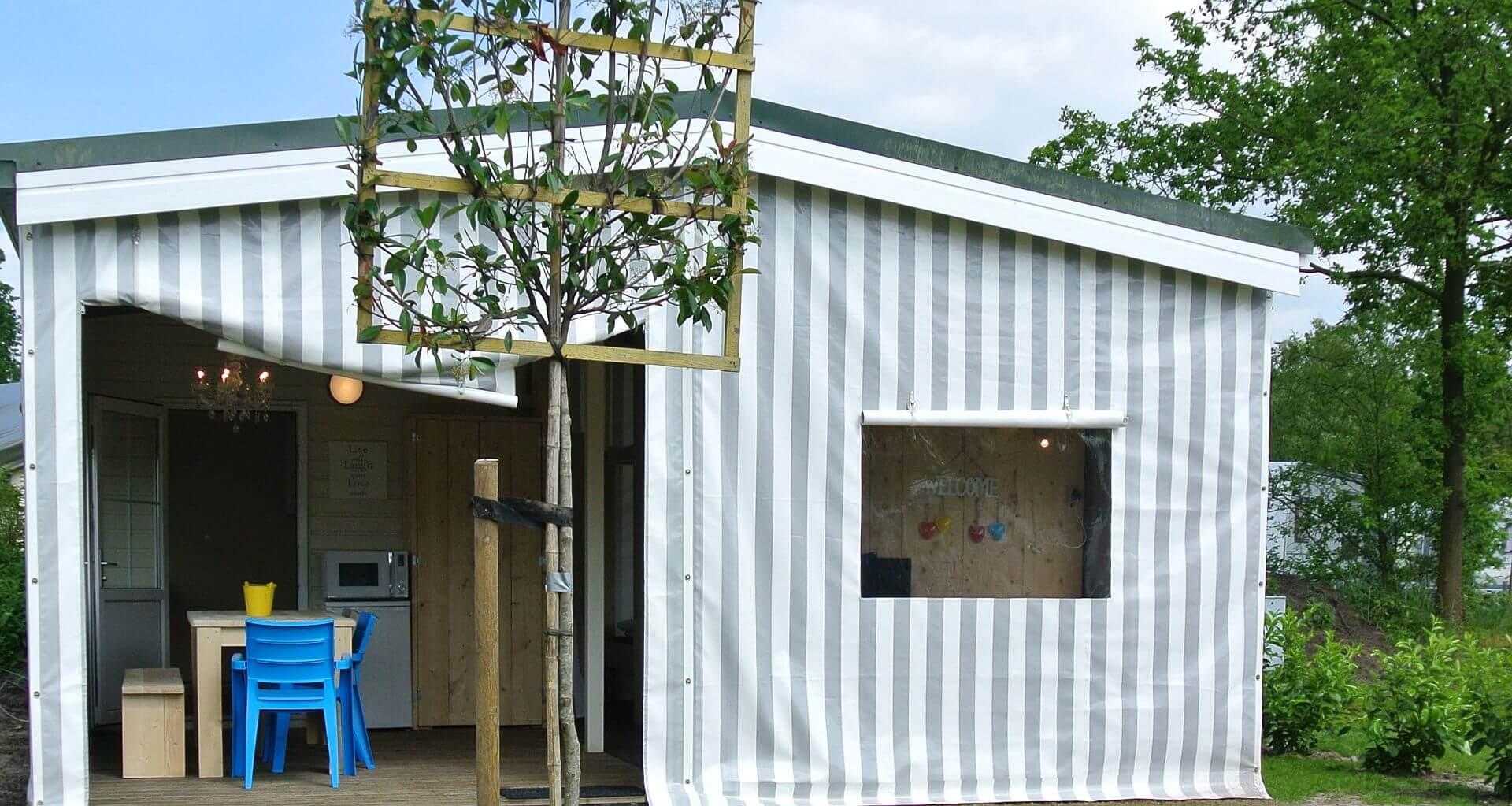 Lodgezelt, eine besondere Unterkunft direkt am Strand! - Lodgezelt