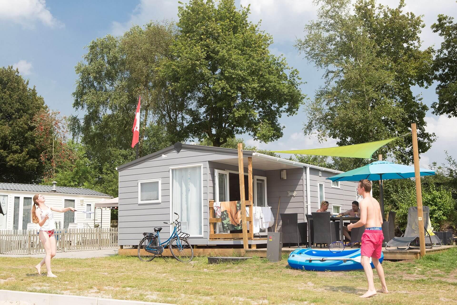 Mobilheim am Strand -