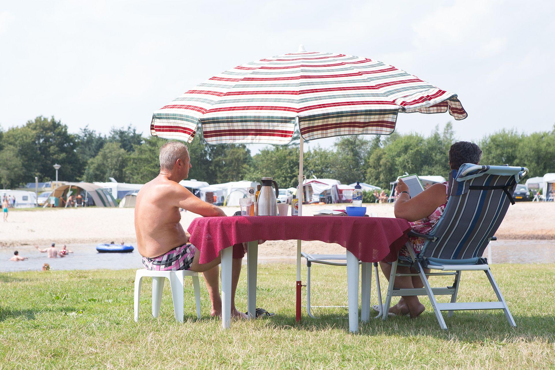 Camping Stellplatz für das Vorsaison auf Ferienpark Het Stoetenslagh. - Stellplatz