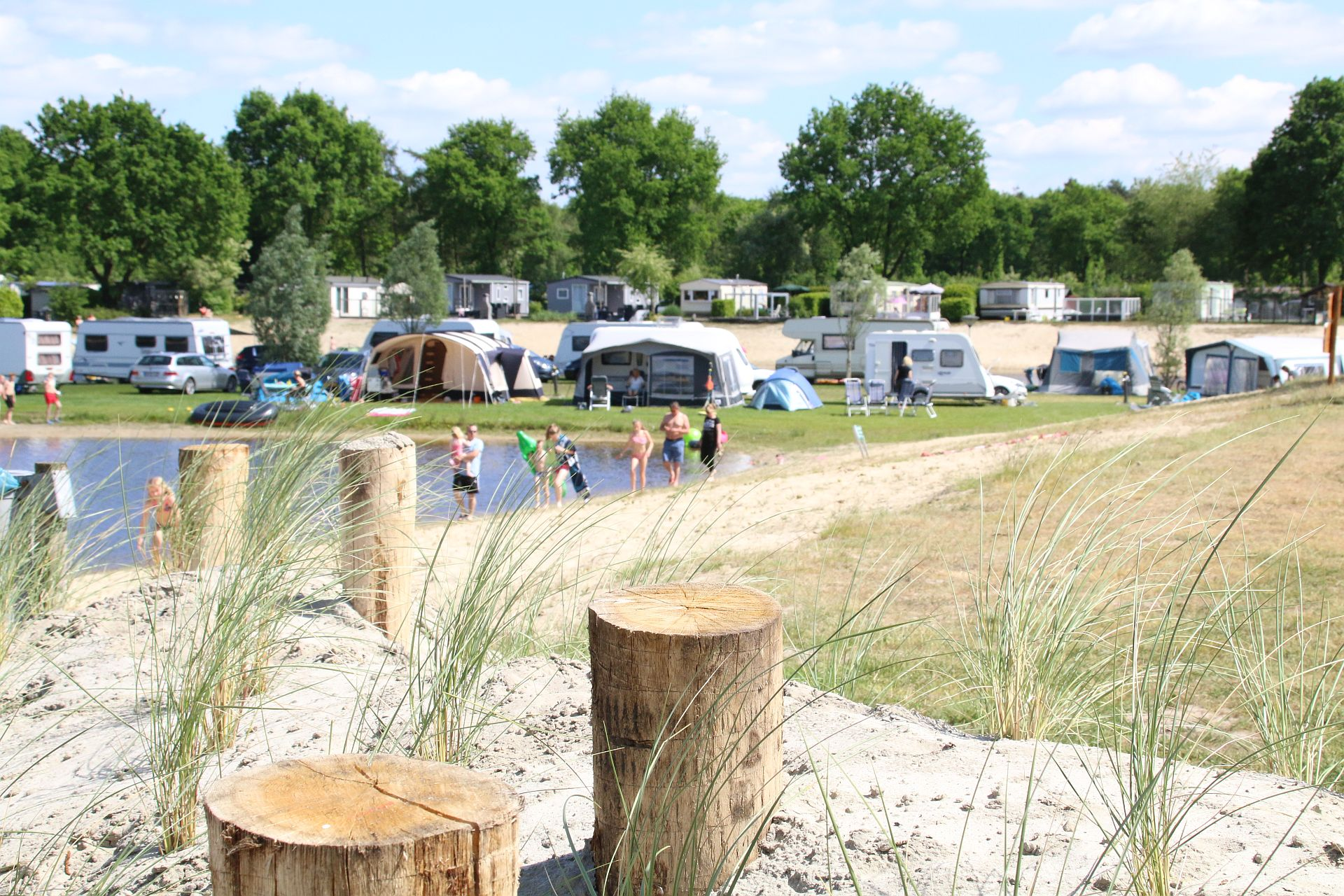Urlaub in Hardenberg auf 5-Sterne-Campingplatz Capfun het Stoetenslagh