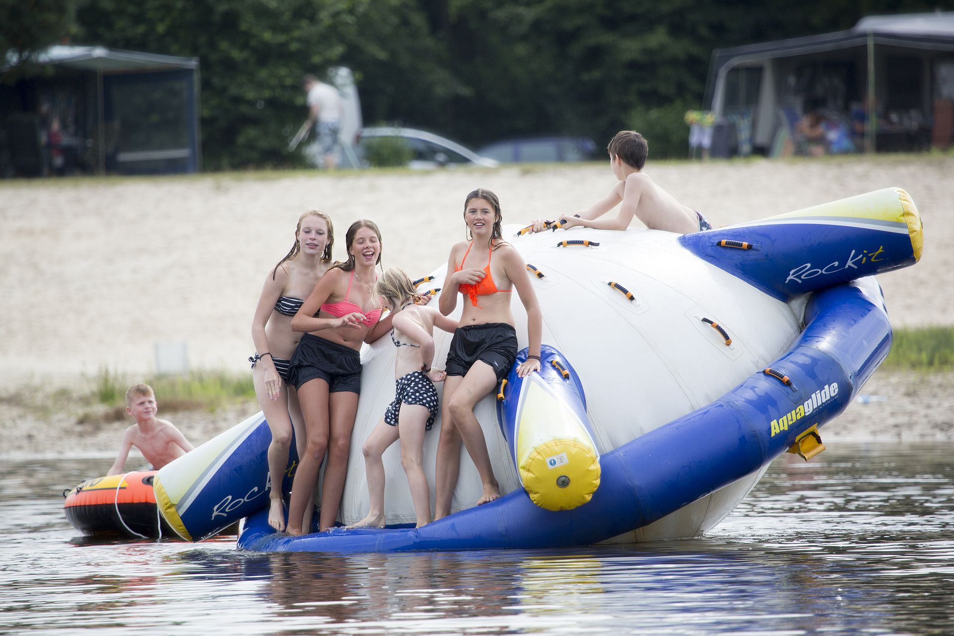 Urlaub mit Hund auf 5-Sterne Campingplatz Het Stoetenslagh