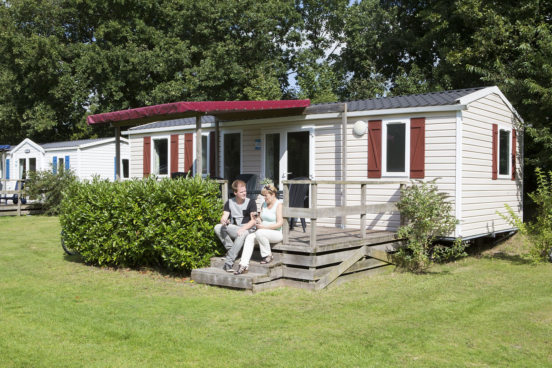Urlaub mit Hund auf 5-Sterne Campingplatz Capfun het Stoetenslagh - Urlaub mit Hund