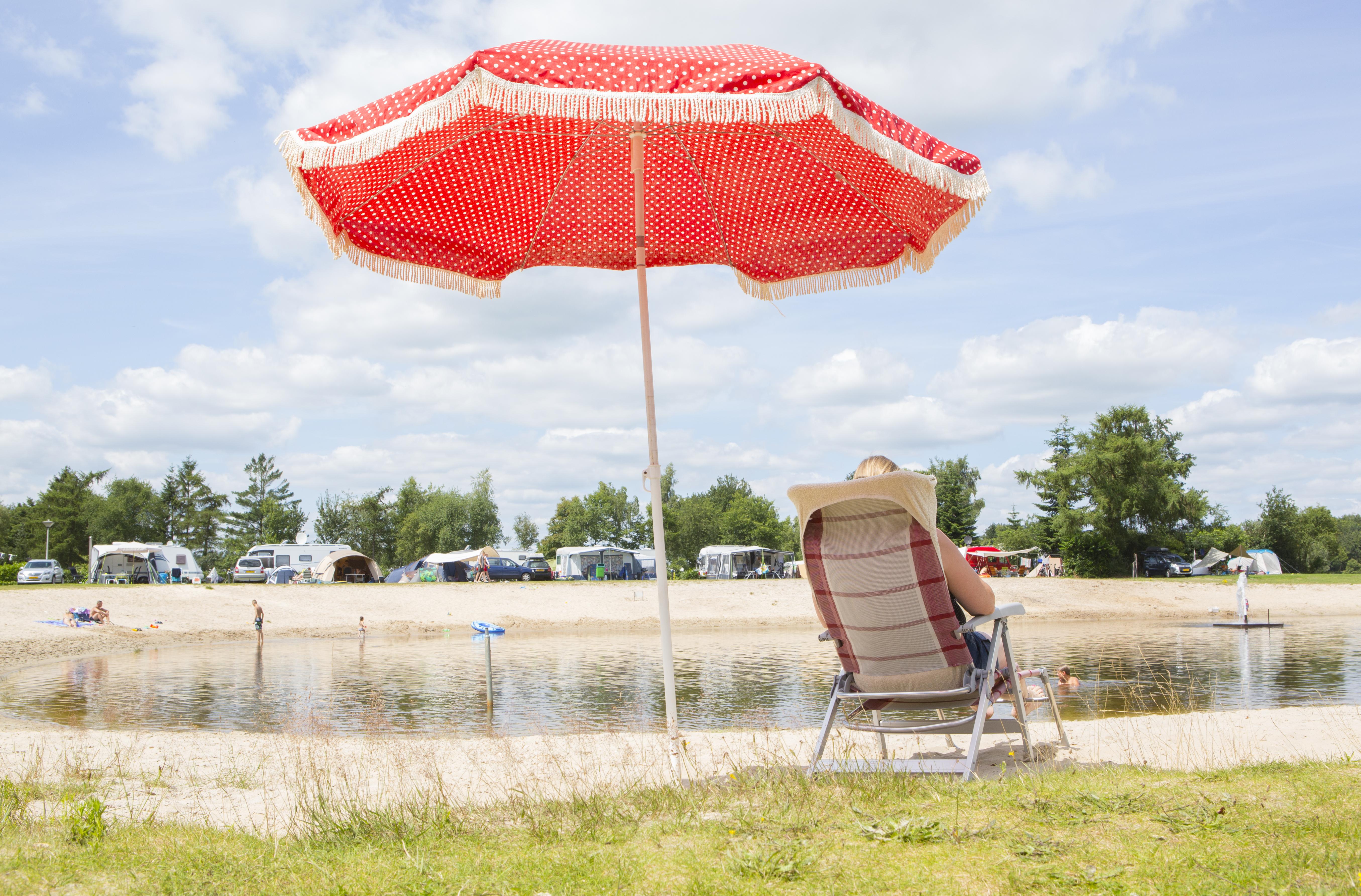 Campingplatz am Wasser bei Het Stoetenslagh. -