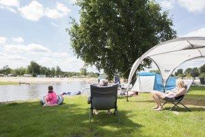 Campingplatz am Wasser
