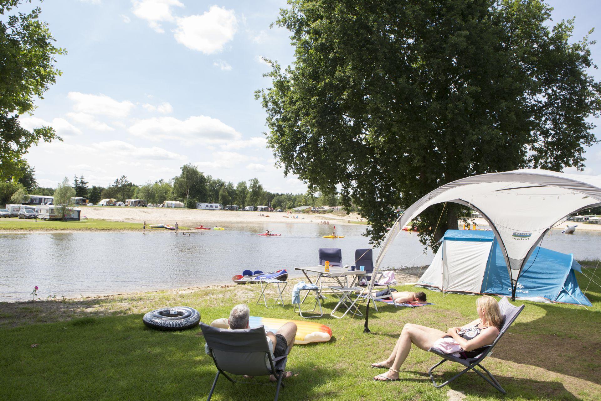 Campen im September -