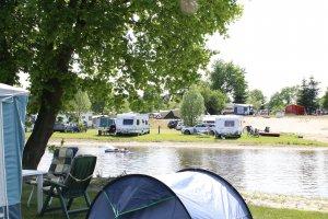 Campen in September