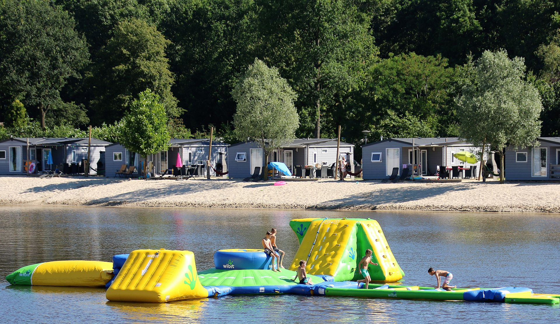 5 Sterne Campingplatz in Hardenberg Het Stoetenslagh - Campingplatz Hardenberg Stoetenslagh