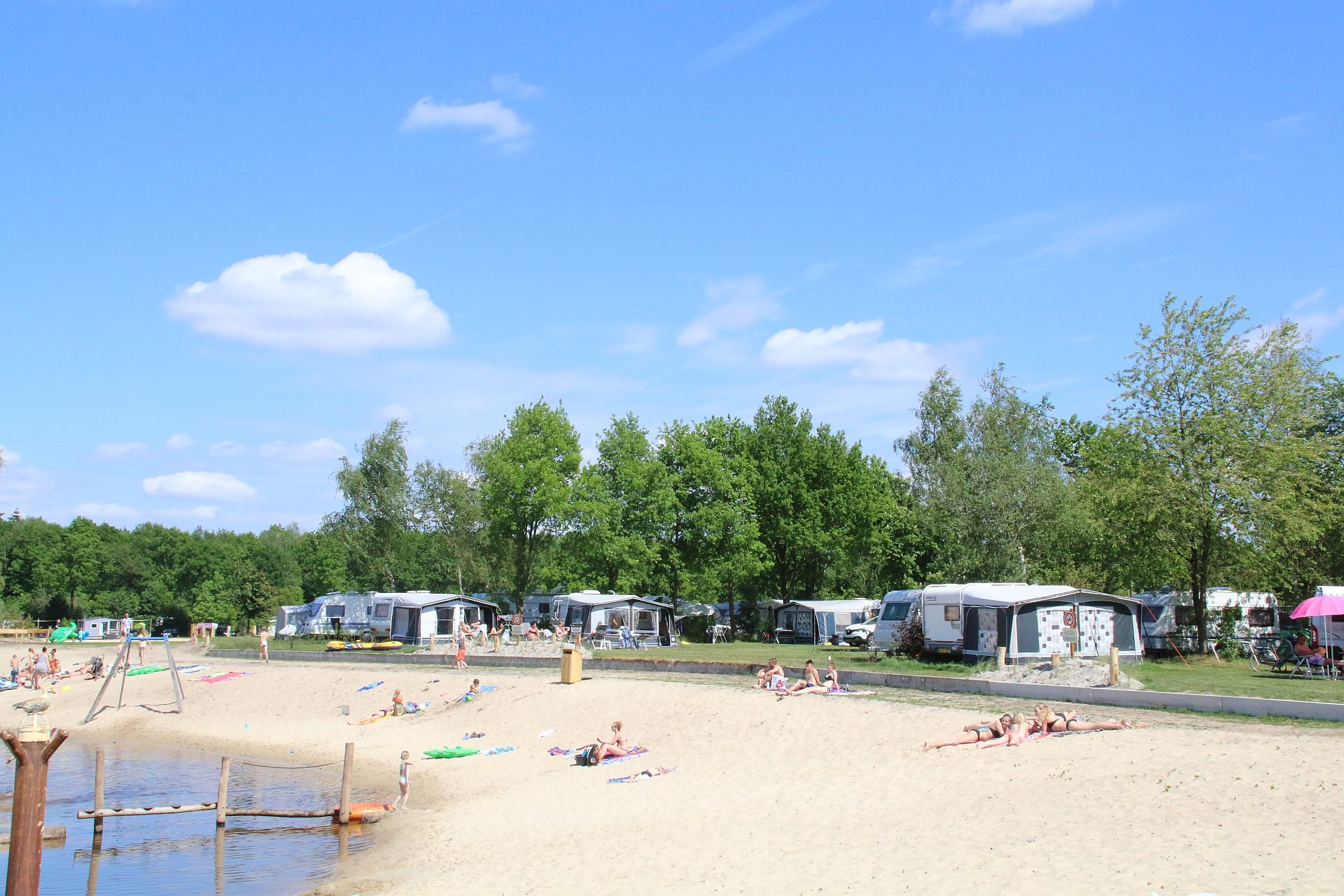 5 Sterne Campingplatz in Hardenberg Het Stoetenslagh - Campingplatz Hardenberg
