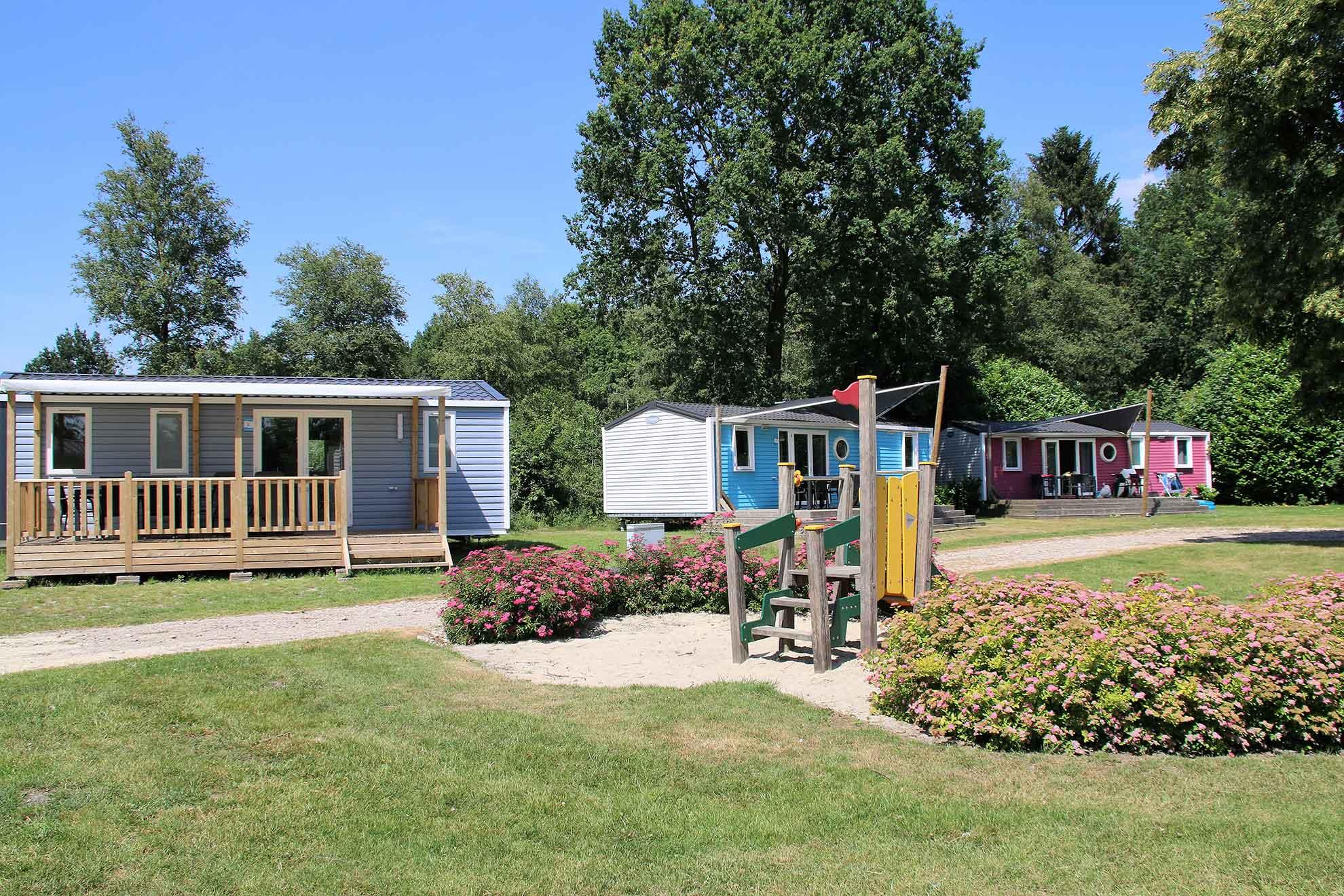 Kurzurlaub Fronleichnam auf Ferienpark Het Stoetenslagh - Kurzurlaub Fronleichnam Mobilheim