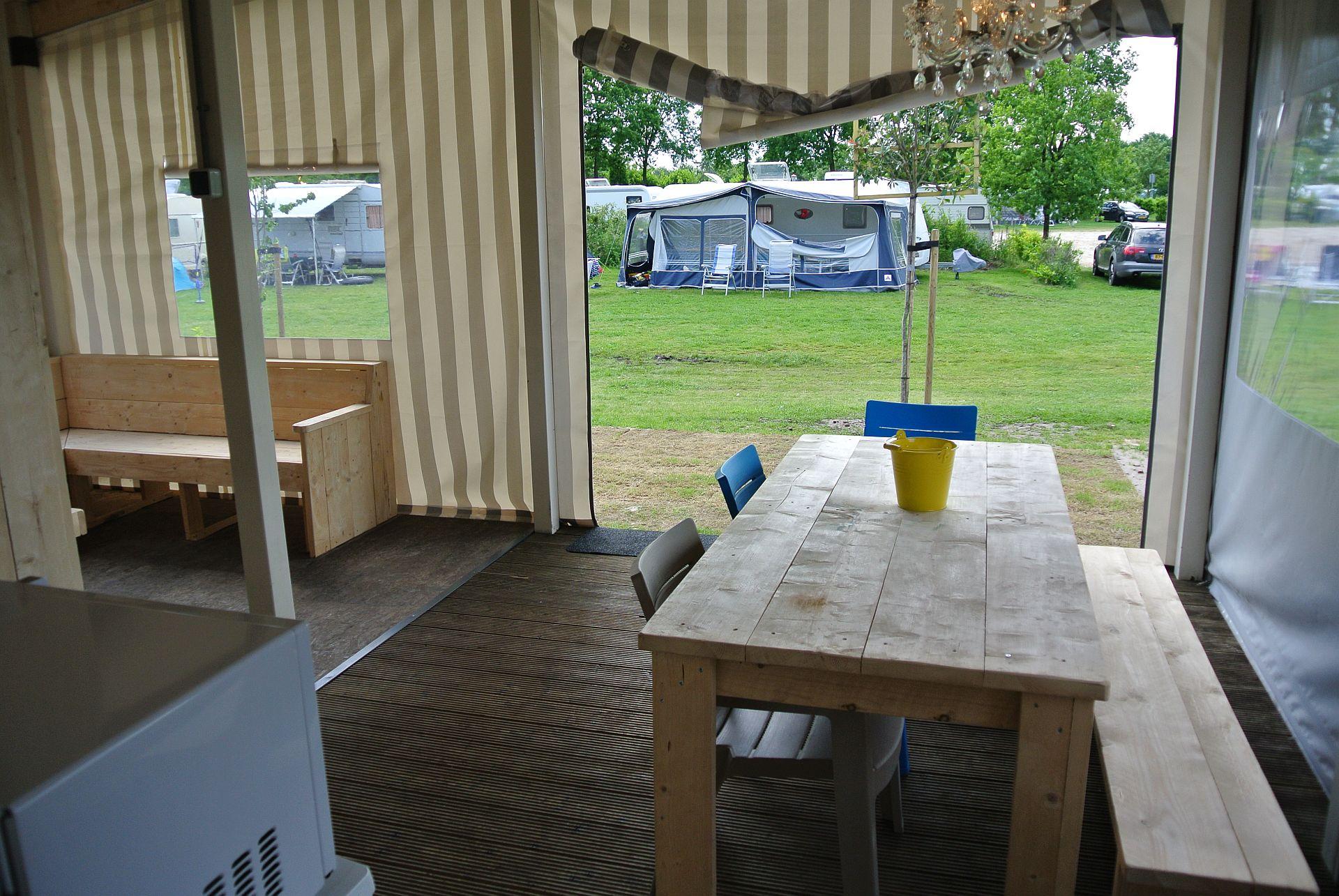 Lodgezelt, eine besondere Unterkunft direkt am Strand! - Lodgezelt Mieten am Wasser